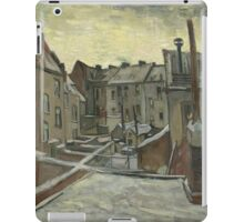 Vincent Van Gogh - Houses seen from the back, December 1885 - February 1886 iPad Case/Skin