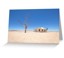 In the Middle of Nowhere Greeting Card