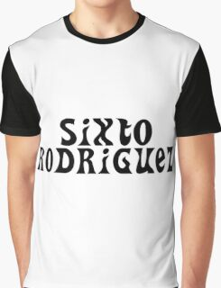 Hippie Sixto Rodriguez Sugarman Graphic T-Shirt