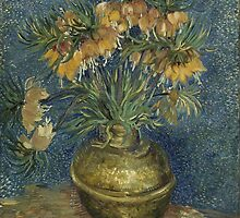 Vincent Van Gogh - Imperial Fritillaries in a Copper Vase, 1887 by famousartworks