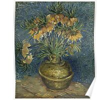 Vincent Van Gogh - Imperial Fritillaries in a Copper Vase, 1887 Poster