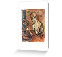 The Sorcerer Greeting Card
