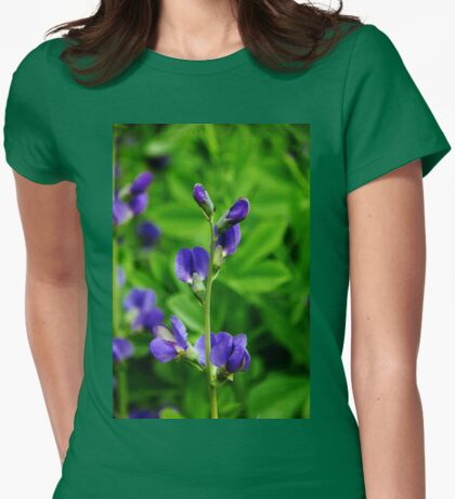 Violet Blue Womens Fitted T-Shirt