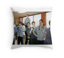 JD x7 Throw Pillow
