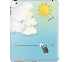 Adjust the weather iPad Case/Skin