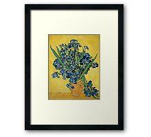 Vincent Van Gogh - Irises, May 1890 - 1890 Framed Print