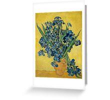 Vincent Van Gogh - Irises, May 1890 - 1890 Greeting Card