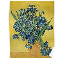 Vincent Van Gogh - Irises, May 1890 - 1890 Poster
