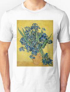 Vincent Van Gogh - Irises, May 1890 - 1890 T-Shirt