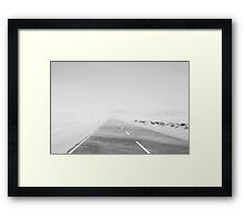 Travelling the Desert Framed Print
