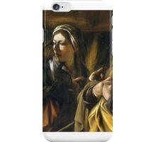 The Denial of Saint Peter, Caravaggio,  iPhone Case/Skin