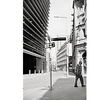 Walk Off - Downtown Leicester Photographic Print