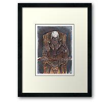 Laeroth, the Dark Knight Framed Print