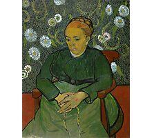 Vincent Van Gogh - La berceuse, Portrait of Madame Roulin, December 1888 - January 1889 Photographic Print