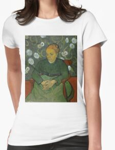 Vincent Van Gogh - La berceuse, Portrait of Madame Roulin, December 1888 - January 1889 Womens Fitted T-Shirt