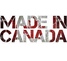 Canada Canadian Flag Photographic Print