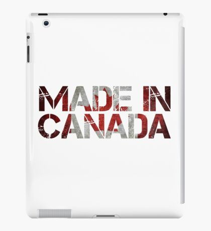 Canada Canadian Flag iPad Case/Skin