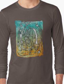 Fighting Fox & Wily Wolf Long Sleeve T-Shirt