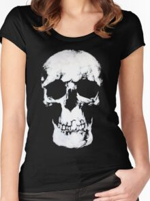 Sherlock Why Do You Have a Skull on Your Wall? Women's Fitted Scoop T-Shirt