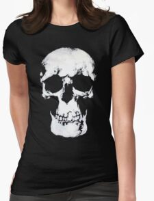 Sherlock Why Do You Have a Skull on Your Wall? Womens Fitted T-Shirt