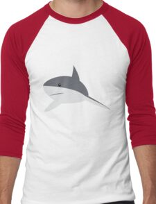 Minimal shark Men's Baseball ¾ T-Shirt