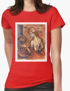 The Sorcerer Womens Fitted T-Shirt