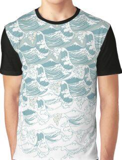 Big blue wave Graphic T-Shirt