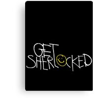 Get Sherlocked Canvas Print
