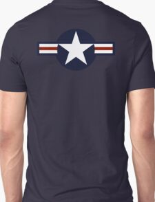 AMERICAN, USAF, Roundel, United States Air Force, aircraft, United States Navy, United States Marine Corps Unisex T-Shirt