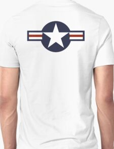 USAF, Roundel, United States Air Force, aircraft, United States Navy, United States Marine Corps Unisex T-Shirt