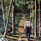 Walking With My Friend by Susan Bergstrom