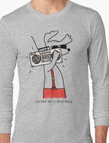 hipster music dog T-Shirt