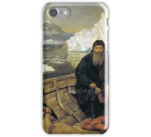 The Hon. John Collier - The Last Voyage of Henry Hudson, Tate Britain iPhone Case/Skin