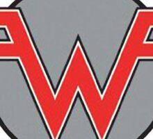 weezer logo rock music Sticker