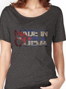 Cuba Cuban Flag Women's Relaxed Fit T-Shirt