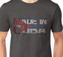 Cuba Cuban Flag Unisex T-Shirt