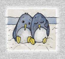 Cuddling Penguins Kids Tee