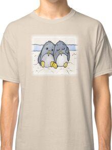 Cuddling Penguins Classic T-Shirt