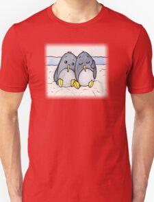 Cuddling Penguins Unisex T-Shirt