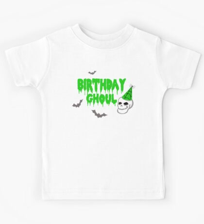 Birthday Ghoul Kids Tee