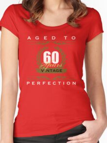 Vintage 60th Birthday Women's Fitted Scoop T-Shirt