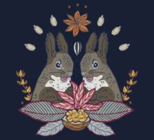 squirrel love Kids Tee