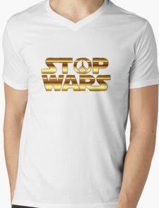 Star Wars Peace Hippie Mens V-Neck T-Shirt