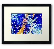 The other blue Framed Print