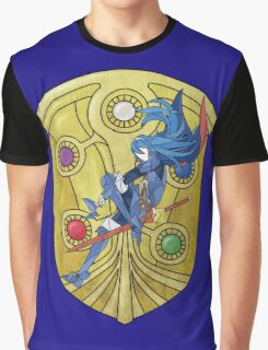 Stained Glass Lucina Graphic T-Shirt