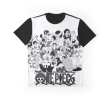 One Piece - Characters 00 Graphic T-Shirt