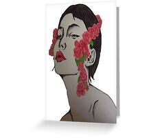 Woman in the Mirror Greeting Card
