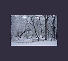 Winter Days Along The Creek Unisex T-Shirt