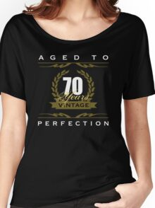 Vintage 70th Birthday Women's Relaxed Fit T-Shirt