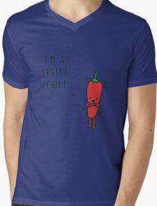 Chili Cartoon Mens V-Neck T-Shirt